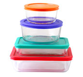 Food containers Royalty Free Stock Photos
