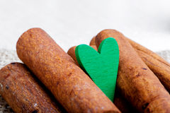 Food cooked with love. Valentine's Day Royalty Free Stock Photography