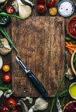 Food cooking background, ingredients for preparation vegan dishes, vegetables, roots, spices, mushrooms and herbs. Vegetable. Peeler. Healthy food concept royalty free stock photo