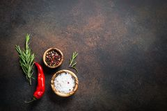 Food cooking background Royalty Free Stock Photos