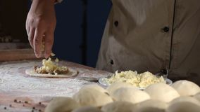 Food. Cooking, food kitchen meal baker chef stock footage