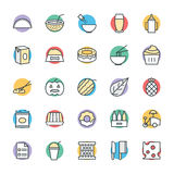 Food Cool Vector Icons 12 Royalty Free Stock Photo