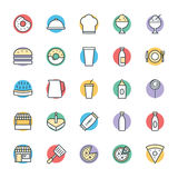 Food Cool Vector Icons 2 Royalty Free Stock Photos