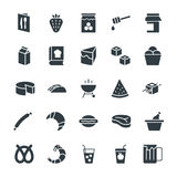 Food Cool Vector Icons 8 Royalty Free Stock Image