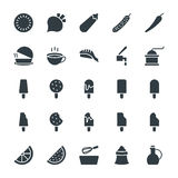 Food Cool Vector Icons 6 Stock Photos