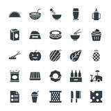 Food Cool Vector Icons 12 Stock Photography