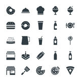 Food Cool Vector Icons 2 Royalty Free Stock Image
