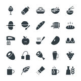 Food Cool Vector Icons 7 Royalty Free Stock Images