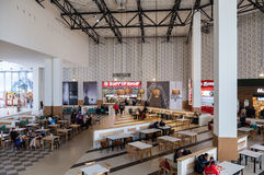 Free Food Court At A Shopping Center Ambar Stock Photos - 47080173