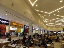 Food Court at Deira City Centre in Dubai, UAE Royalty Free Stock Photo