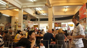 Food court in Penang Stock Photo