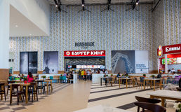 Food court at a shopping center Ambar Stock Photography