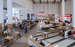 Food court at a shopping center Ambar Stock Image