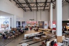Food court at a shopping center Ambar Stock Photos