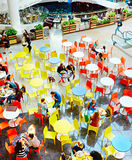Food court at shopping center Royalty Free Stock Images