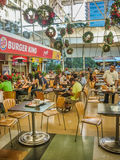 Food Court at Shopping in Medellin Colombia Royalty Free Stock Photos
