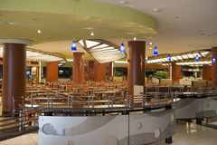 Food court. Waiting for a customers to visit Royalty Free Stock Photo