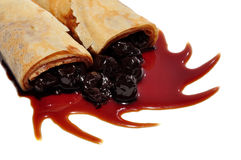 Food, crepes Royalty Free Stock Photos