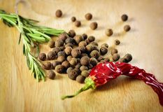 Food and cuisine ingredients. Stock Photos