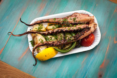 Food cuttlefish Royalty Free Stock Photography