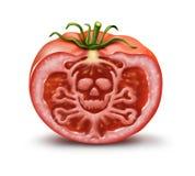 Food Danger royalty free illustration