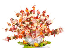 Food decoration Stock Photo