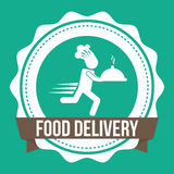 Food delivery. Design, vector illustration eps10 graphic Royalty Free Stock Photography