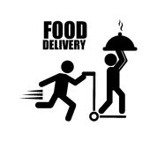 Food delivery Royalty Free Stock Images