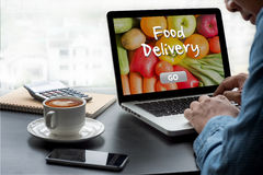 Food Delivery Food Royalty Free Stock Photo