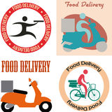 Food delivery Royalty Free Stock Photos