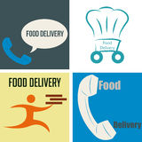 Food delivery Stock Photos