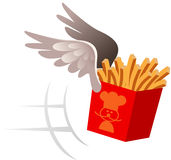 Food delivery symbol Royalty Free Stock Photos
