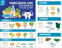 Food health vector infographic elements icon brochure concept royalty free illustration