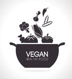 Food design. Royalty Free Stock Photos