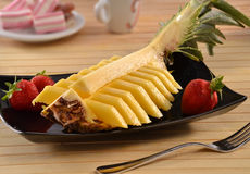 Food design pineapple Royalty Free Stock Images