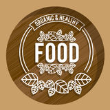 Food design,vector illustration. Royalty Free Stock Photo