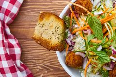 Food, Dish, Vegetarian Food, Fried Food royalty free stock image