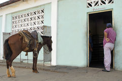 Food distribution centre CUBA Stock Image