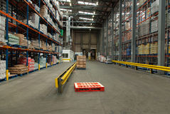 Food Distribution Warehouse Stock Photo