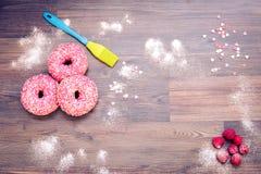 Food,donut,background,bake Royalty Free Stock Image
