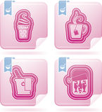 Food & drink. S icons set, from left to right, top to bottom Royalty Free Stock Photography