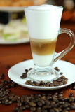 Food and drink coffee at one of the holiday . stock image