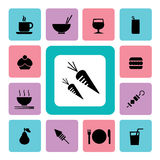 Food and drink Icon2 Royalty Free Stock Photo