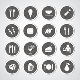 Food and drink icon royalty free stock images