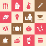 Food and drink icon Royalty Free Stock Photography