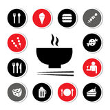 Food and drink icon Stock Photos