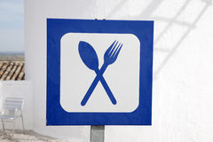 Food and Drink Sign Royalty Free Stock Photo
