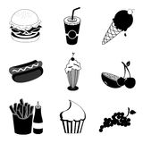 Food and drinks Royalty Free Stock Images