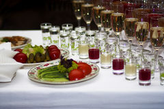 Food and drinks Royalty Free Stock Photos