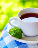 Earl Grey tea with bergamot Royalty Free Stock Photo
